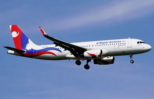 самолет Nepal Airlines